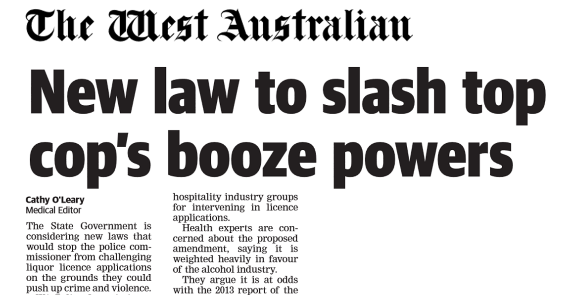 Image of article in The West Australian