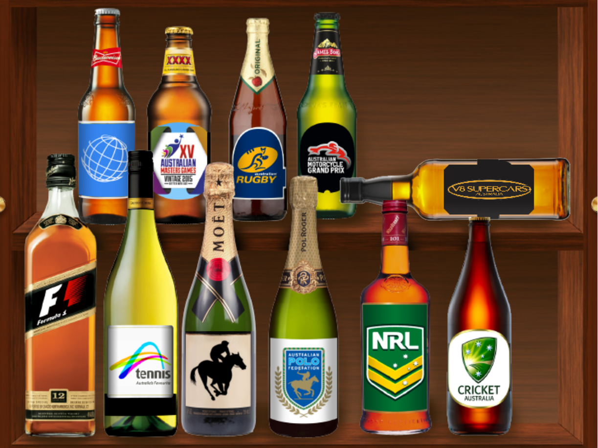 Official drinks cabinet