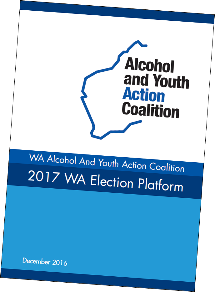 Image of WA Coalition election platform cover page