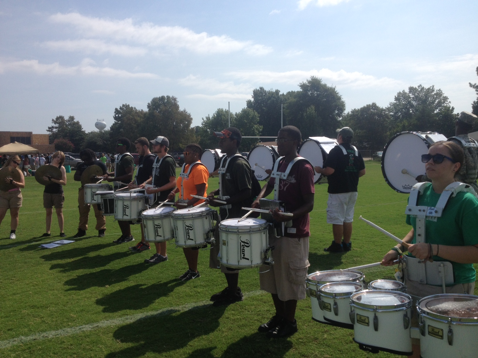 percussion at band day