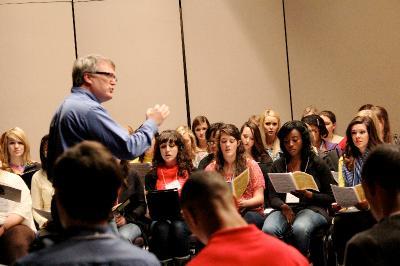 Philip Copeland and Honor Choir