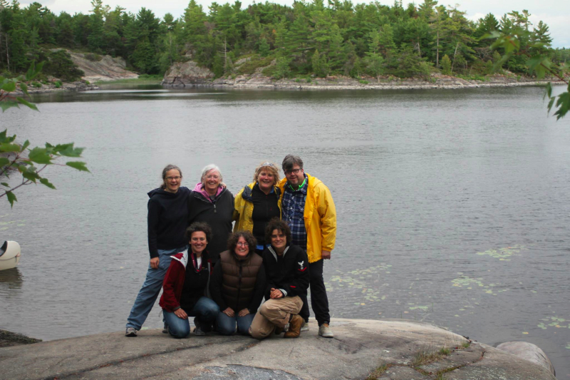 French River Canoe Trip, August 2014