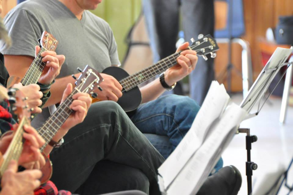 Haliburton School of the Arts Ukulele Class