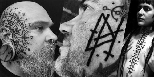 Usando da alquimia e da geometria sagrada para criar estilos diferentes de tatuagem