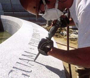 Marcando a pedra com textos e tipografia desde 1705