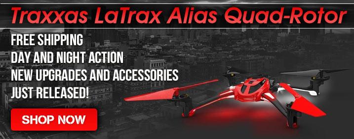 LaTrax Alias Quad Rotor RTF