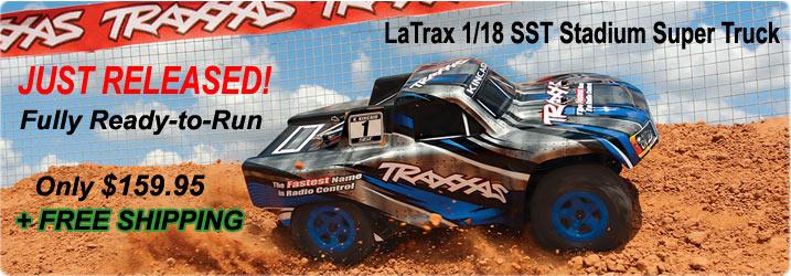 LaTrax SST Super Stadium Truck