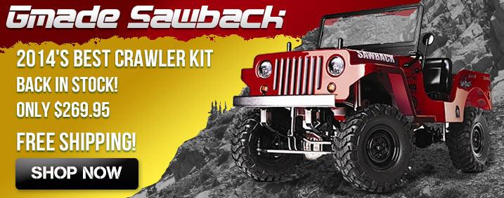 Gmade Sawback 4WD Crawler Kit