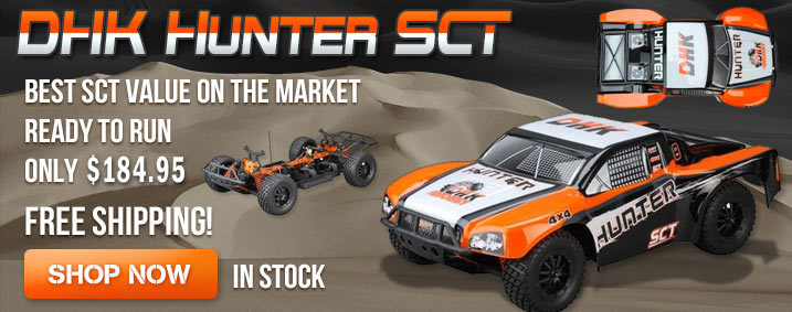 DHK Hunter Short Course Truck
