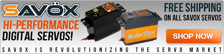 High-Performance Savox Servos