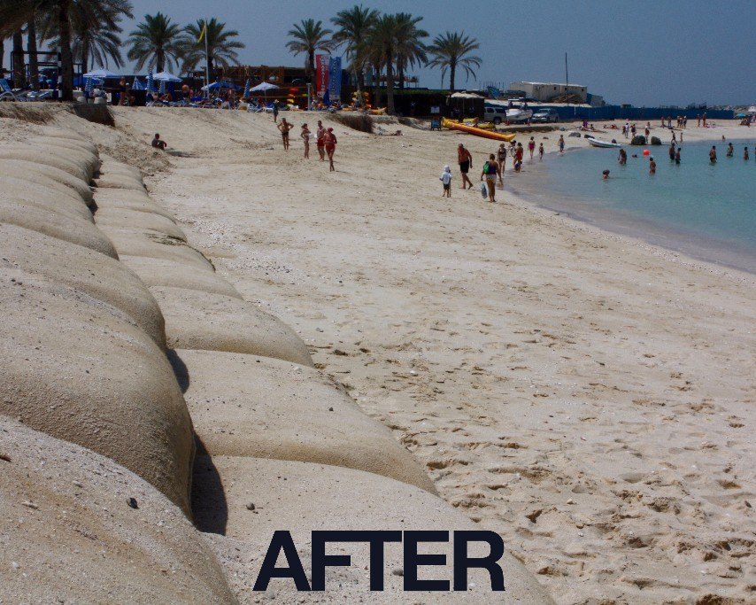 Emergency Beach Protection Works