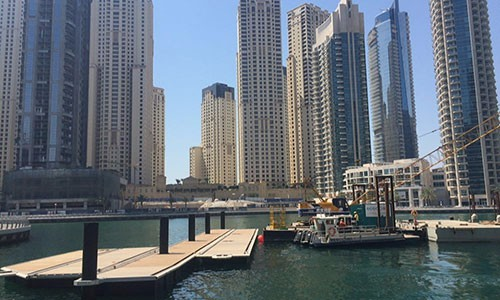 New Pocket Marinas in Dubai Marina