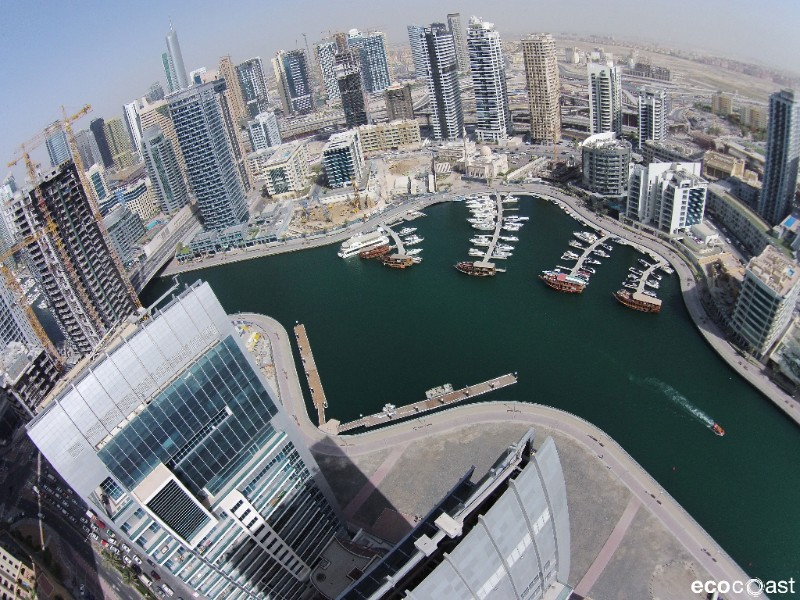 Drone Footage Of Our Dubai Marina Installations