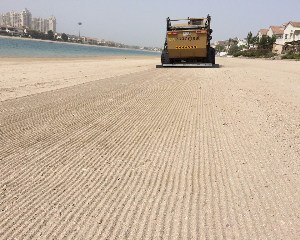 Beach Cleaning After Recent Bad Weather