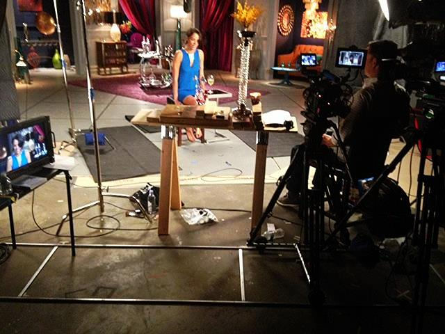 Microdolly on set