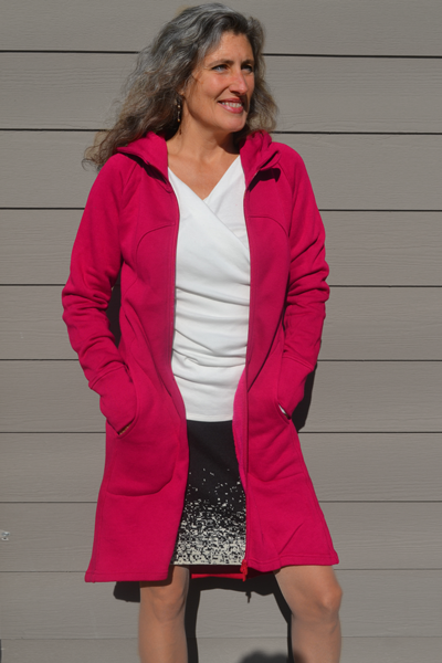 organic fleece coat