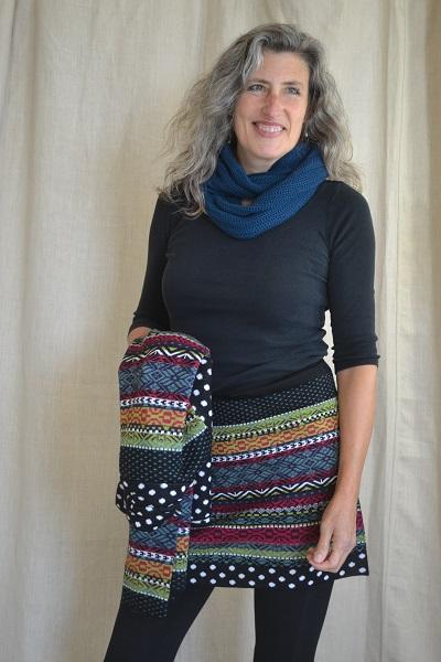 wool skirt gloves hat