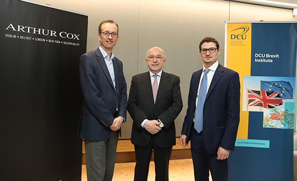 Arthur Cox hosts DCU Brexit Institute conference on financial services
