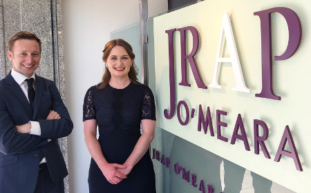 Pictured (l-r): Cormac O'Regan and Mairead Ni Laoire