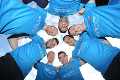 Seven firms compete in Brightwater charity tournament