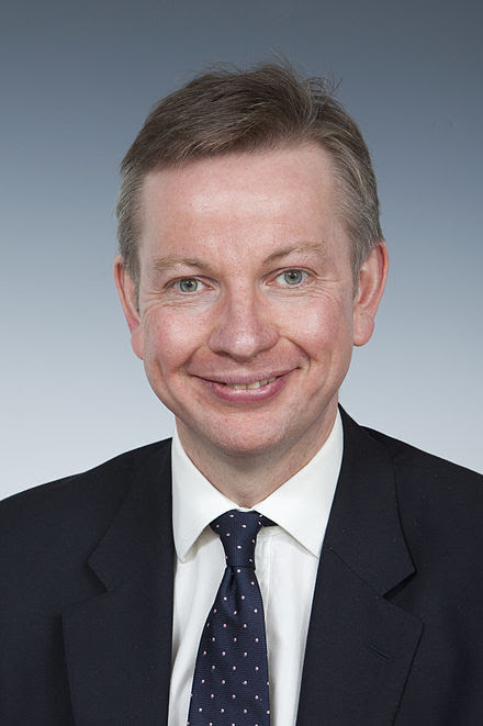 Justice Secretary Michael Gove