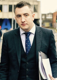 Solicitor Gavin Booth of KRW Law