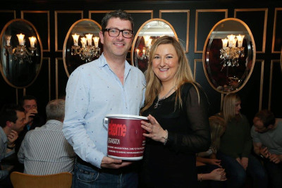 John Guerin, President of the Law Society, and Olivia O'Kane, chair of the Belfast Solicitors Association