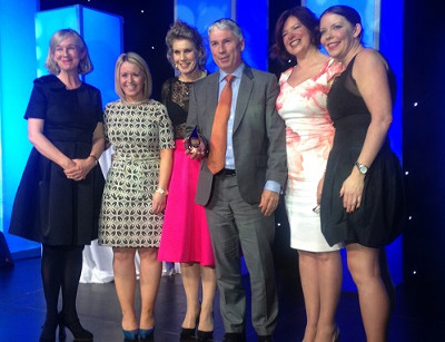 A&L Goodbody's Nessa Kiely, Carmel Mellett, Clodagh Collier, and partner Duncan Inverarity; Mary McNulty, UCC; and Louise Keegan, gradireland
