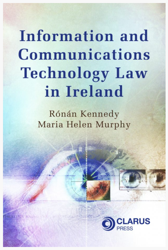 New book on ICT law coming soon
