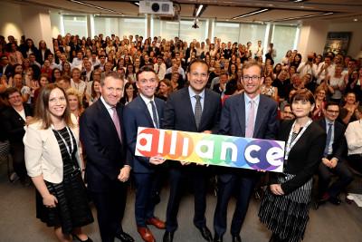 Taoiseach launches Arthur Cox's LGBT+ network