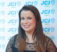 Theresa Cahill, president of JCI Dublin