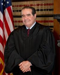 Associate Justice Antonin Scalia of the US Supreme Court