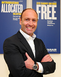 Kenny Jacobs, CMO at Ryanair