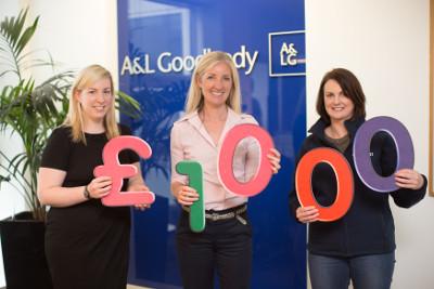 NI: A&L Goodbody staff raise £1,000 for Age NI