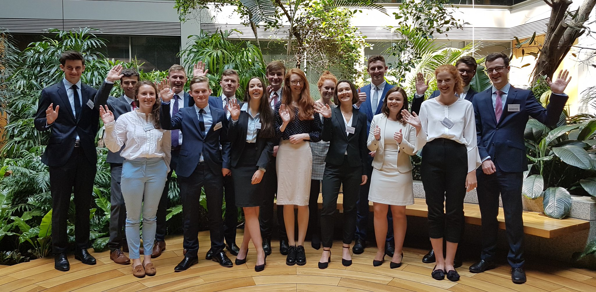 In pictures... A&L Goodbody welcomes summer interns