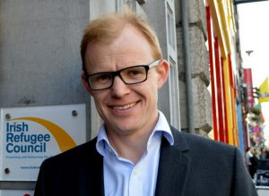 Nick Henderson, CEO of the Irish Refugee Council