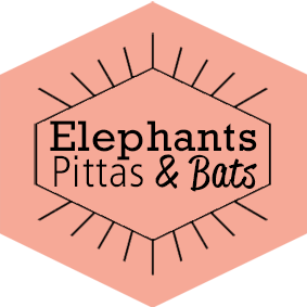 Elephants, Pittas & Bats