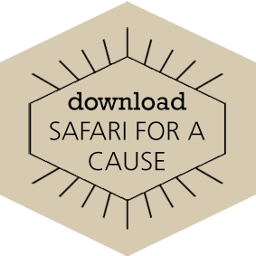Download Safari for a Cause