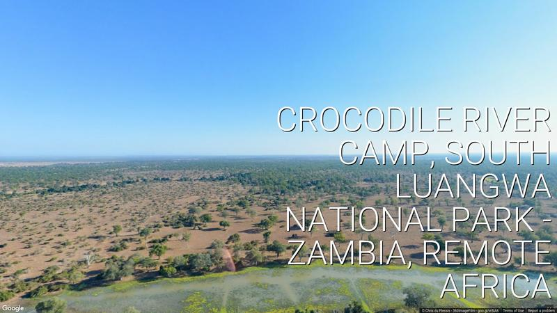 Watch: Crocodile River Camp in 360° images