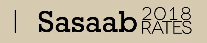 Sasaab 2018 Rates