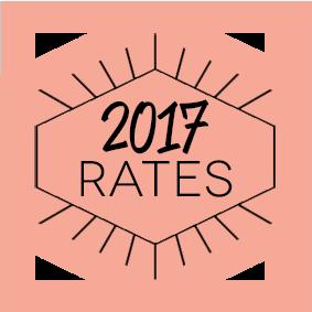 2017 Rates