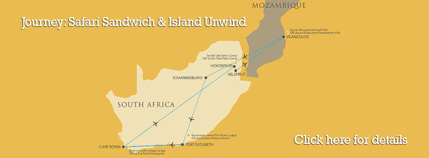 Suggested Journey: Safari Sandwich & Island Unwind
