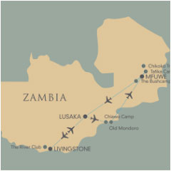 Suggested Itinerary: Legends of Zambia