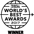 Travel + Leisure World's Best Awards 2017 Winner