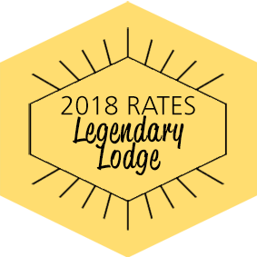 2018 Rates - Legendary Lodge