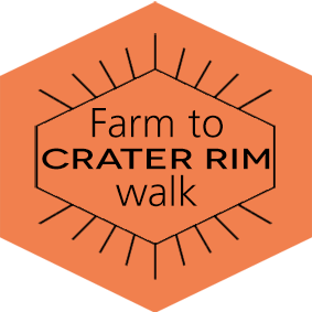 Farm to Crater rim walk