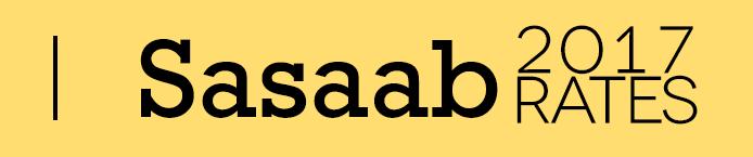 Sasaab 2017 Rates