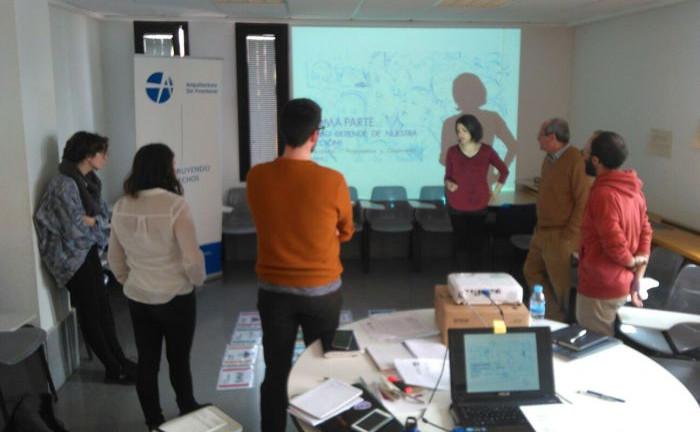 Encuentro formativo y evaluación del proyecto TU CASA, MI CASA
