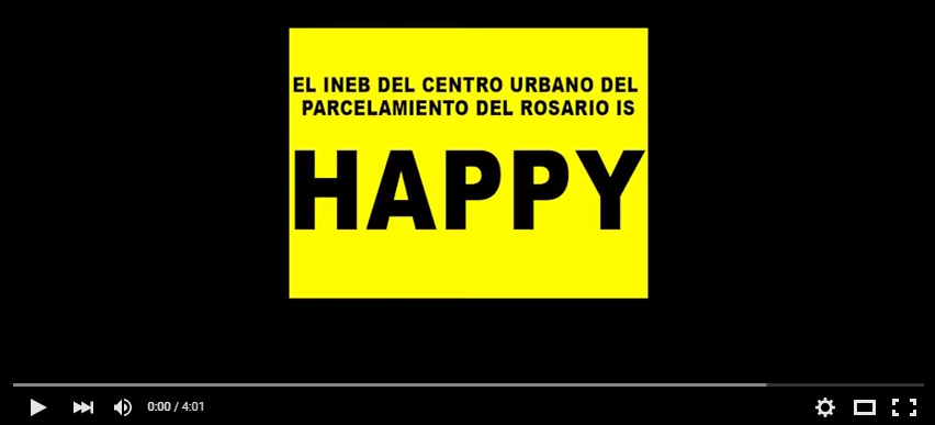El INEB de El Rosario is HAPPY