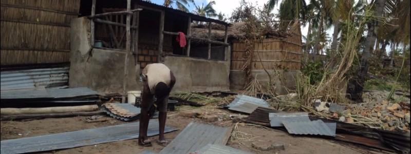 Ciclón Dineo Mozambique